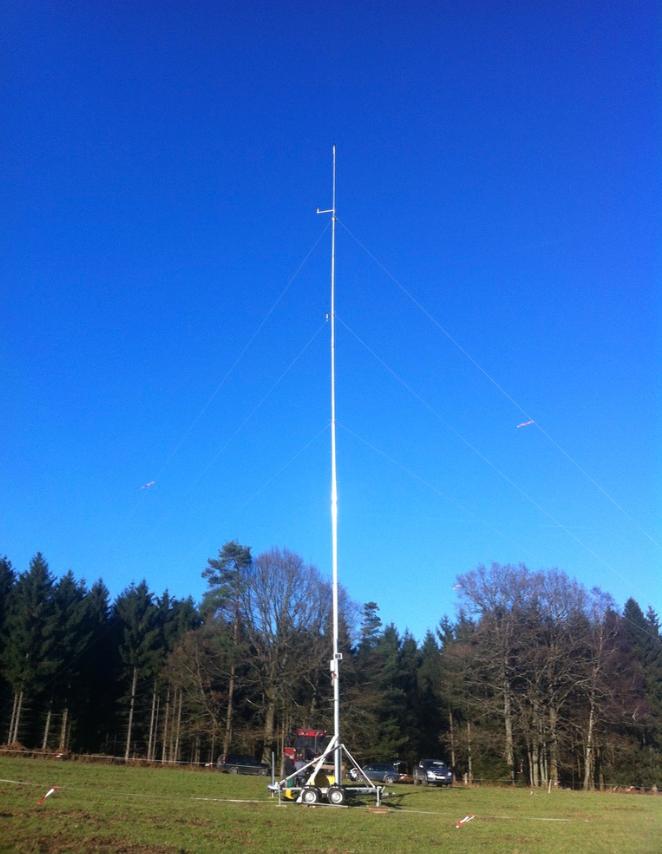 Windmess-Mast